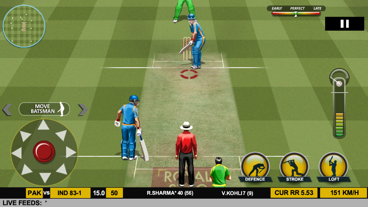 Android Real Cricket™ 17 Screen 4