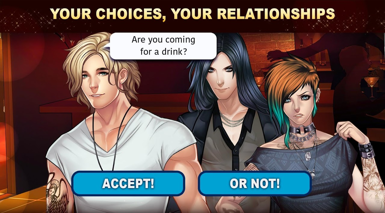 Android Is-it Love? Colin: Choose your story - Love & Rock Screen 14