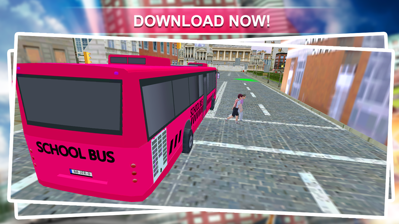 Pink Lady School Bus Driver 1.1 Screen 4