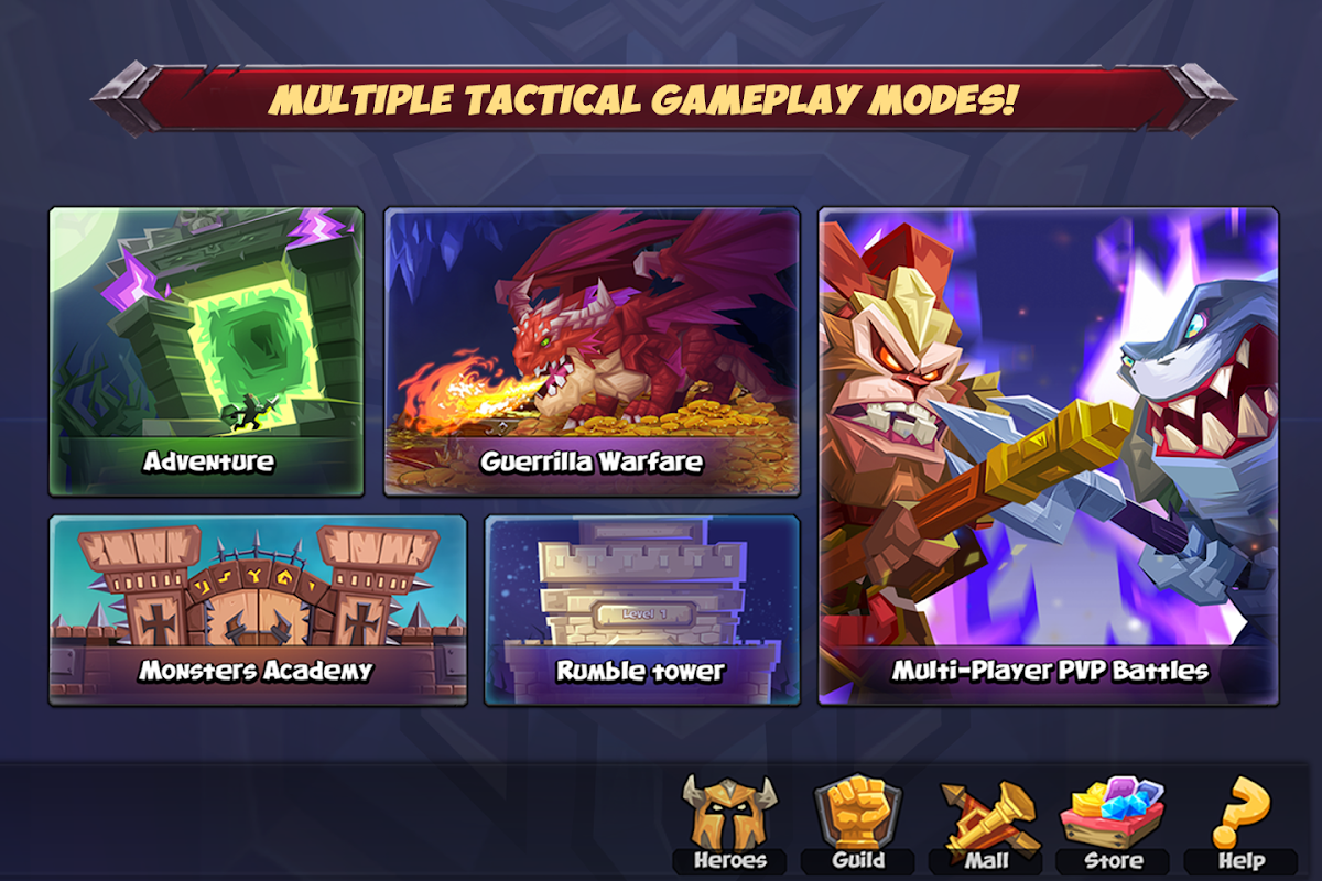 Android Tactical Monsters Rumble Arena -Tactics & Strategy Screen 10