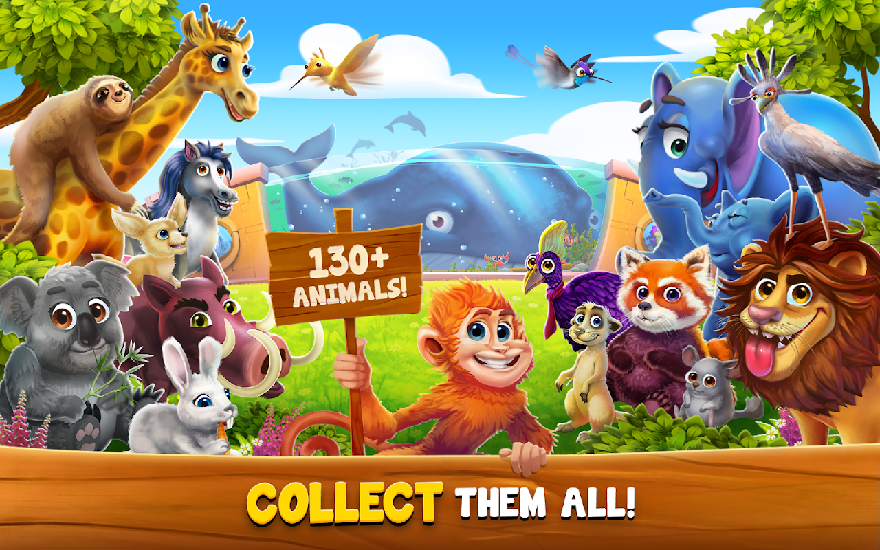 Android ZooCraft: Animal Family Screen 4