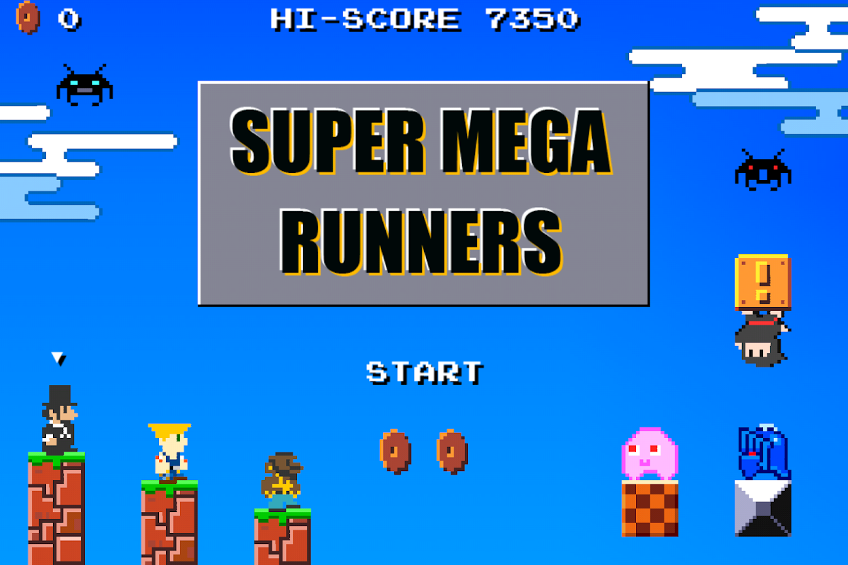 Super Mega Runners : Stage maker Create your game 16.2 Screen 5