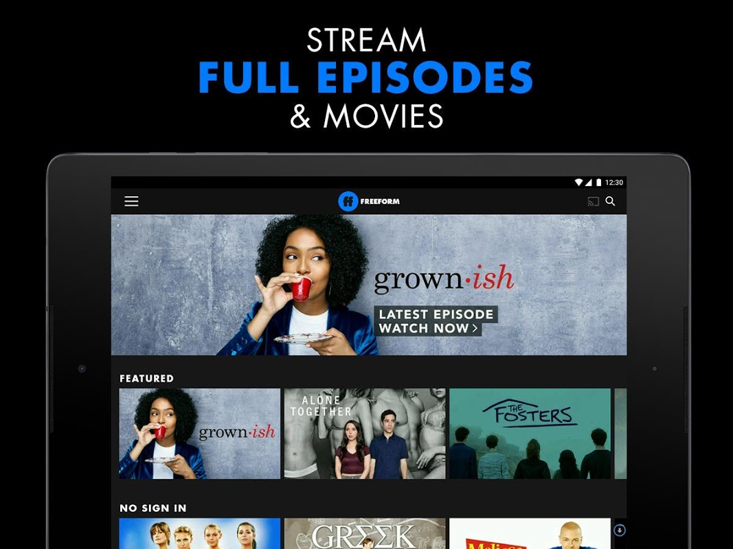 Android Freeform – Stream Full Episodes, Movies, & Live TV Screen 6