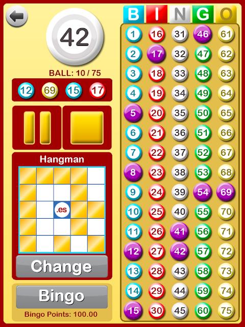 Bingo at Home 3.3.0 Screen 15