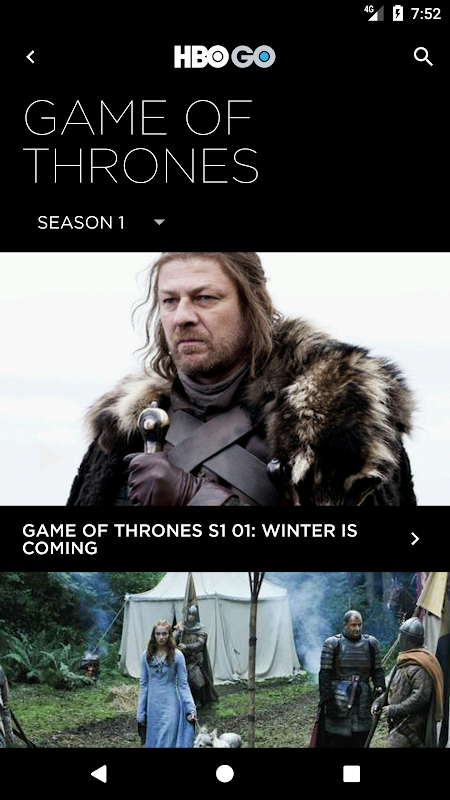 HBO GO Singapore 5.0.9 Screen 2