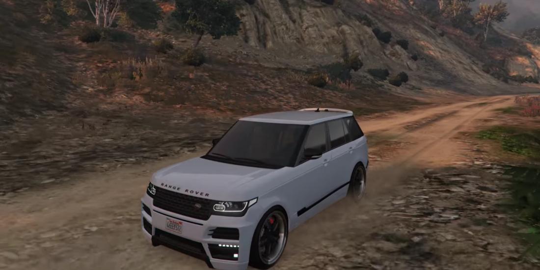 Driving Range Rover Simulator 1.1 Screen 3