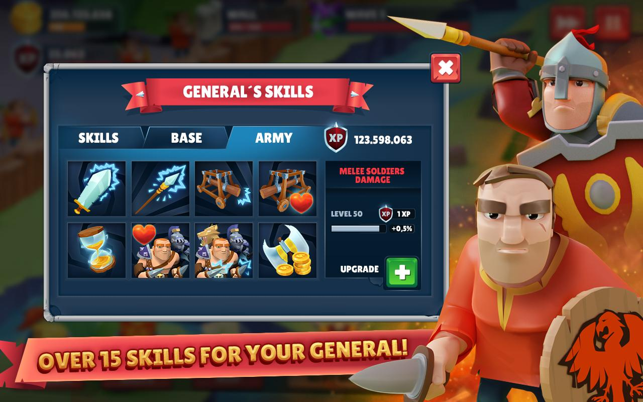Android Game of Warriors (Unreleased) (MOD) Screen 4