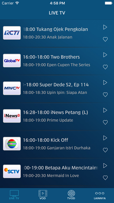 MNC Now: TV & Film Streaming 3.3.13 Screen 4