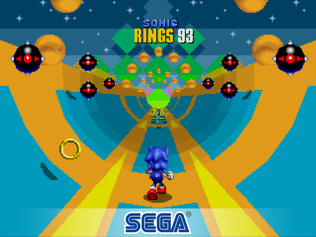 Android Sonic The Hedgehog 2 Classic Screen 3