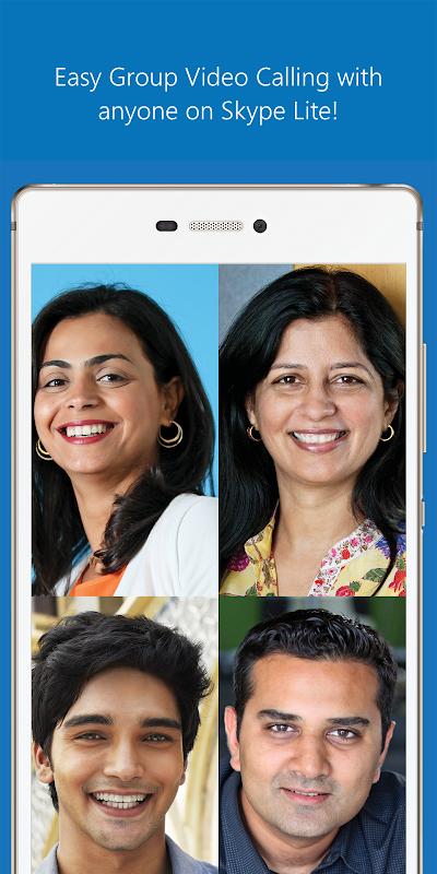 Skype Lite - Free Video Call & Chat 1.79.76.3 Screen 2