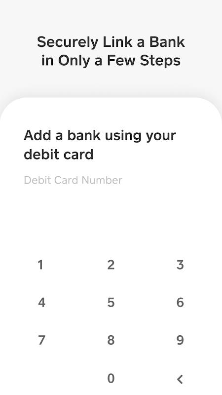 Cash App 3.0.2 Screen 1