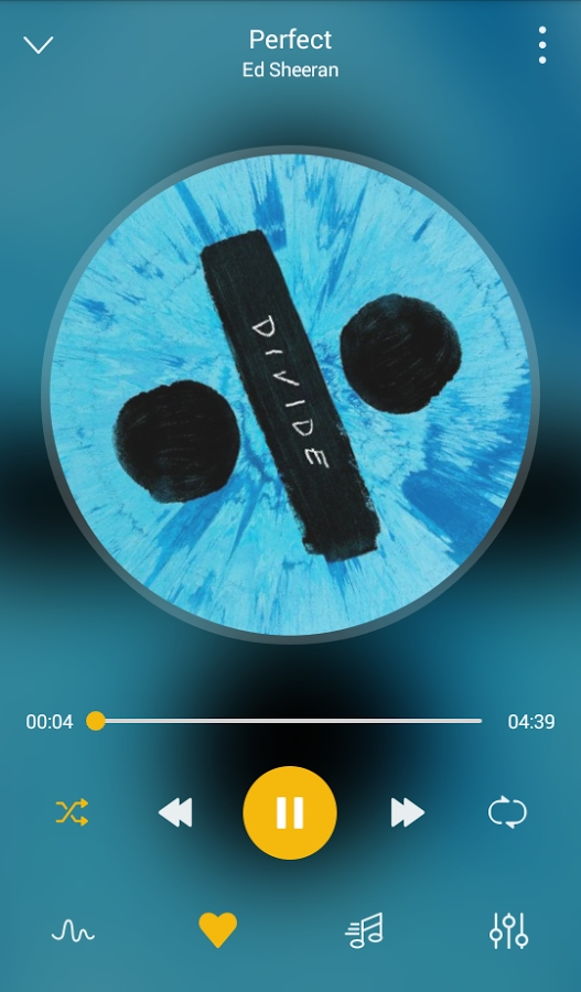 Android GO Music Player PLUS -Free Music,Themes,MP3 Player Screen 1