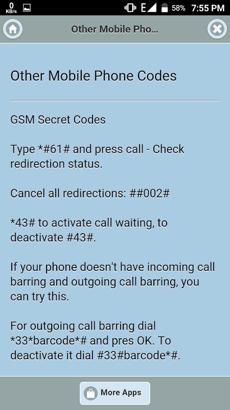All Mobile Secret Code APKs | Android APK