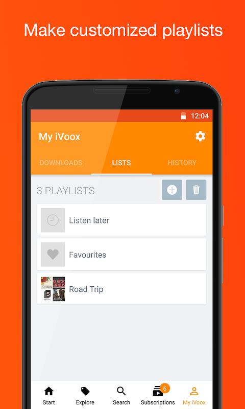 Podcast & Radio iVoox 2.221 Screen 5