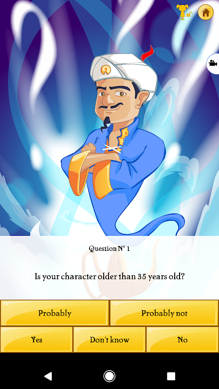 Akinator the Genie 6.6.5 Screen 3