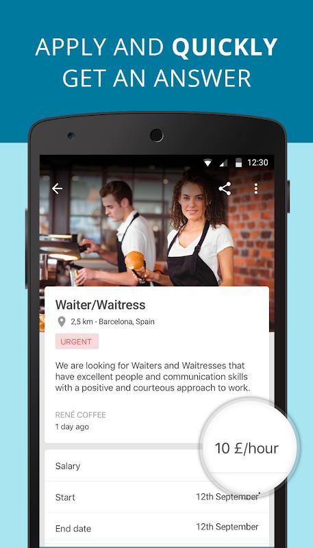 CornerJob - Job offers, Recruitment, Job Search 1.5.3 Screen 1