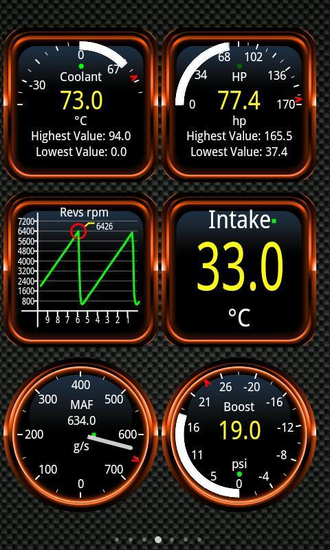 Android Torque Pro (OBD 2 & Car) Screen 1