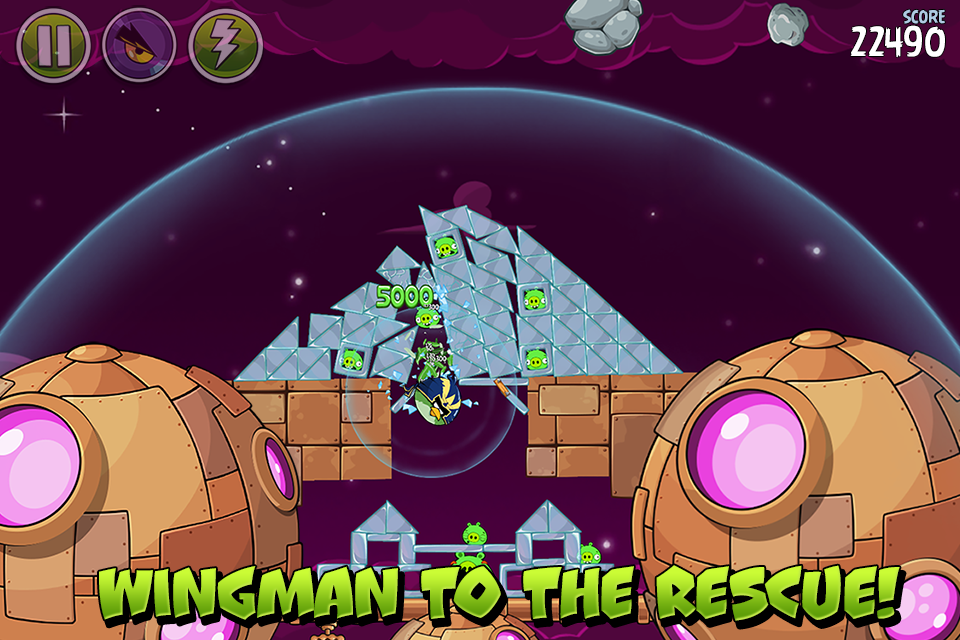 Angry Birds Space 2.2.14 Screen 4
