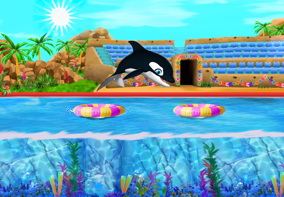 Android My Dolphin Show Screen 1