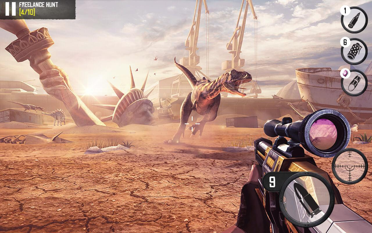 Android Best Sniper Legacy: Dino Hunt & Shooter 3D Screen 14