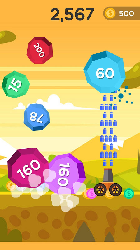 Android Ball Blast - Jump ball Screen 3