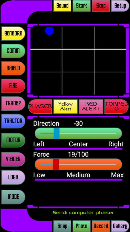 Android Star Fleet Trycorder Screen 2