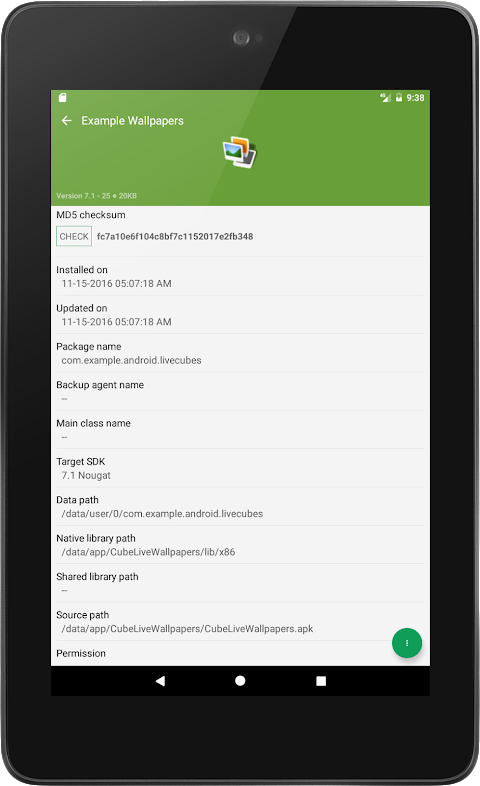 My APK 2.3.8.4 Screen 12
