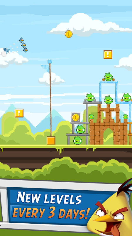 Android Angry Birds Friends Screen 2