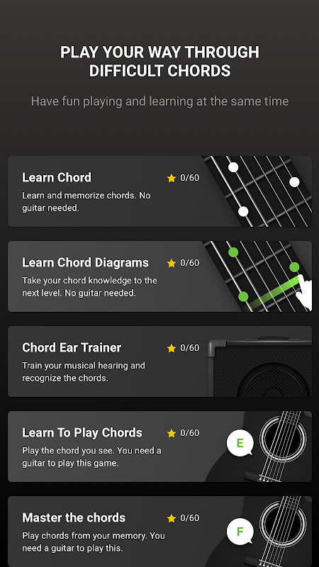 guitar tuner free guitartuna apks android apk. Black Bedroom Furniture Sets. Home Design Ideas