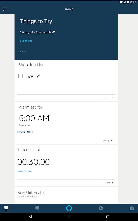 Amazon Alexa 2.2.231367.0 Screen 10