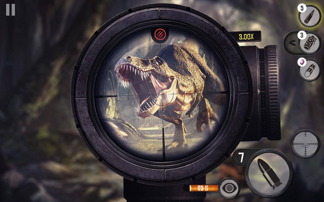 Android Best Sniper Legacy: Dino Hunt & Shooter 3D Screen 10