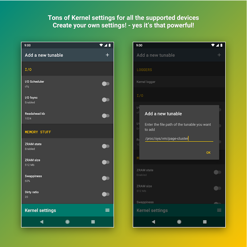 Android FK Kernel Manager - for all devices & Kernels Screen 4