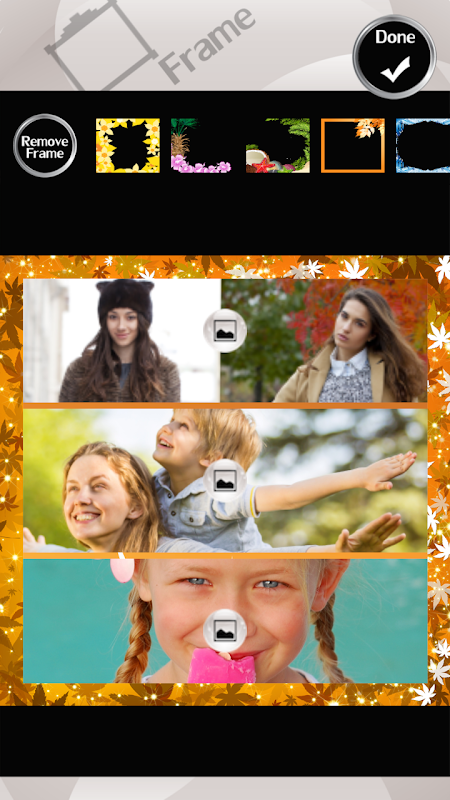 Android Four Seasons Photo Collage Screen 4