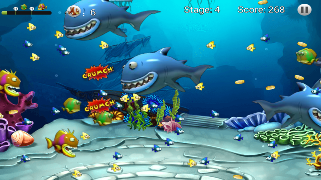 Feeding Frenzy - Eat Fish 1.1 Screen 2