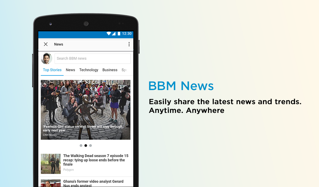 Android BBM - Free Calls & Messages Screen 8