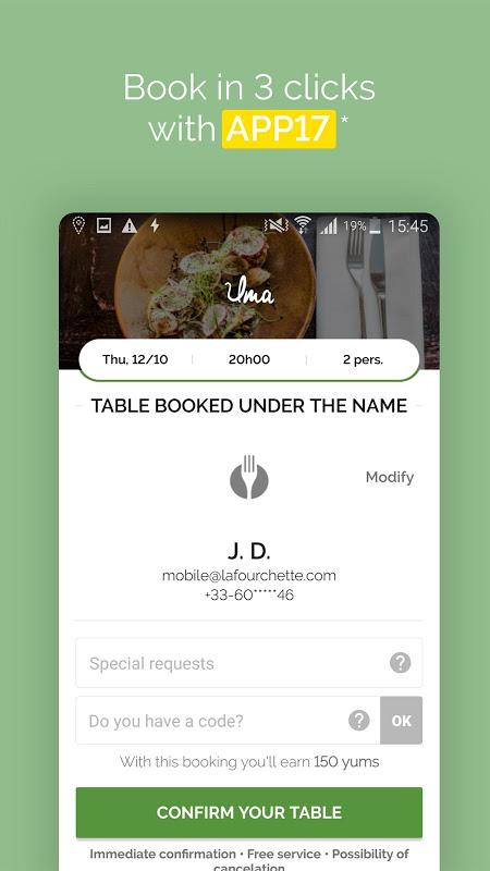 TheFork - Restaurants booking 10.3.0 Screen 14
