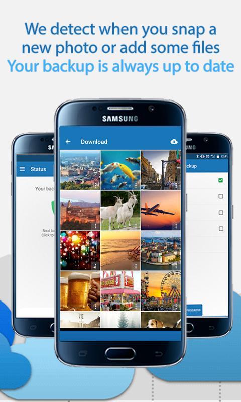 Android 100GB Free Cloud Storage Degoo Screen 2