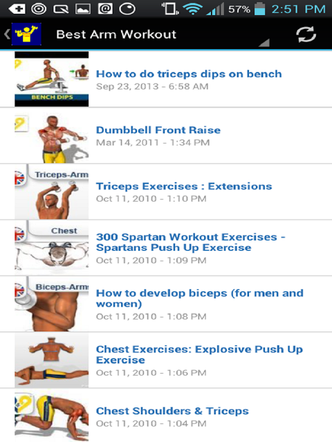 Android Workout Trainer Screen 21
