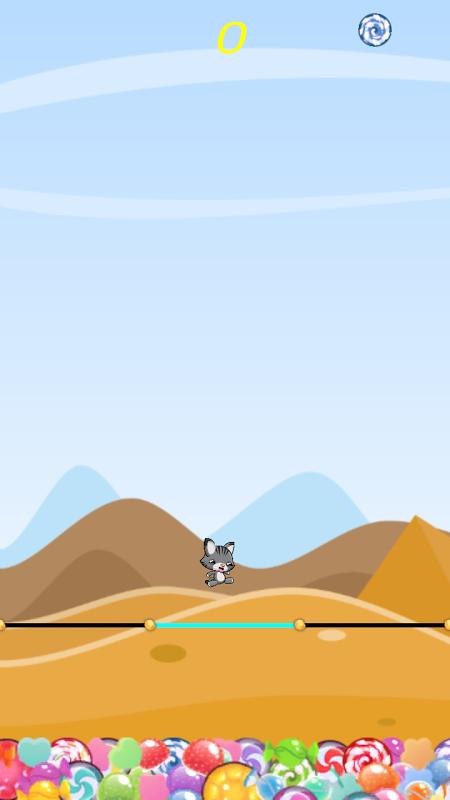 Swiping Cat 2.0.1 Screen 2