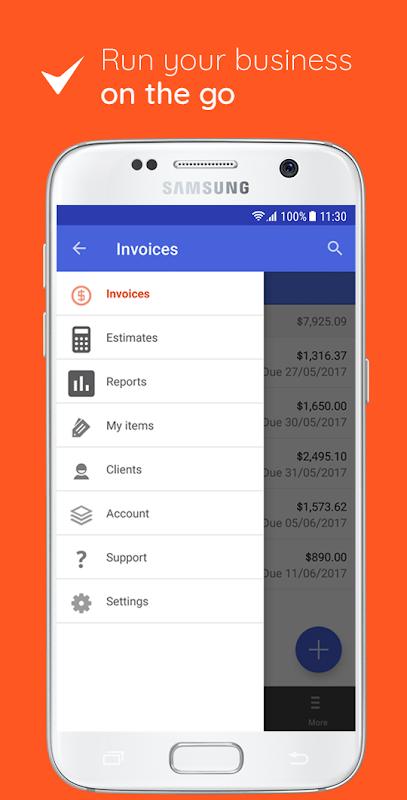 Invoice & Estimate on the Go 0.1.283 Screen 1