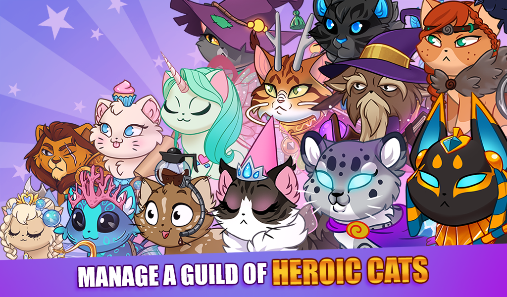Android Castle Cats: Epic Story Quests Screen 4