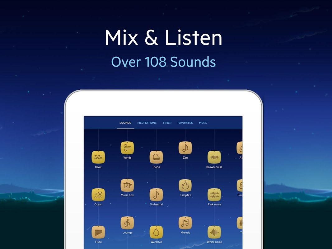 Relax Melodies P: Sleep Sounds 6.7.4 Screen 3