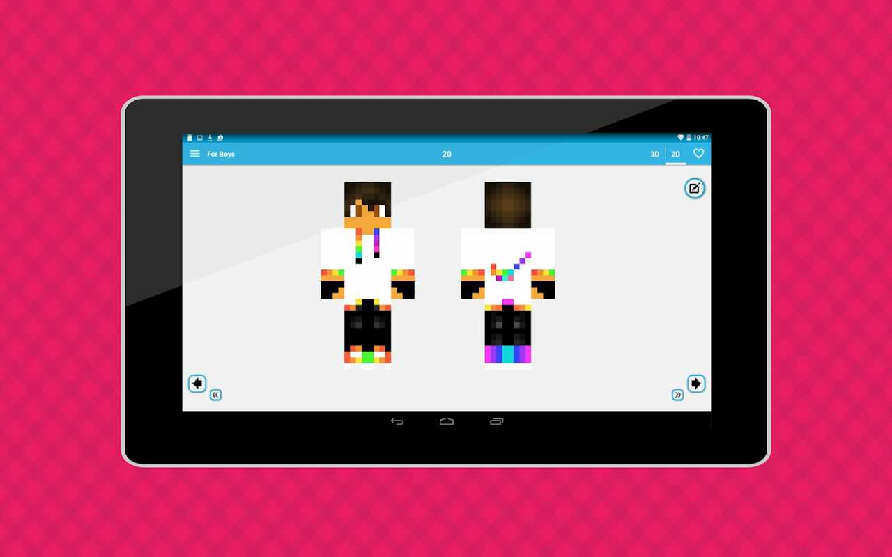 Android World of Skins Screen 12