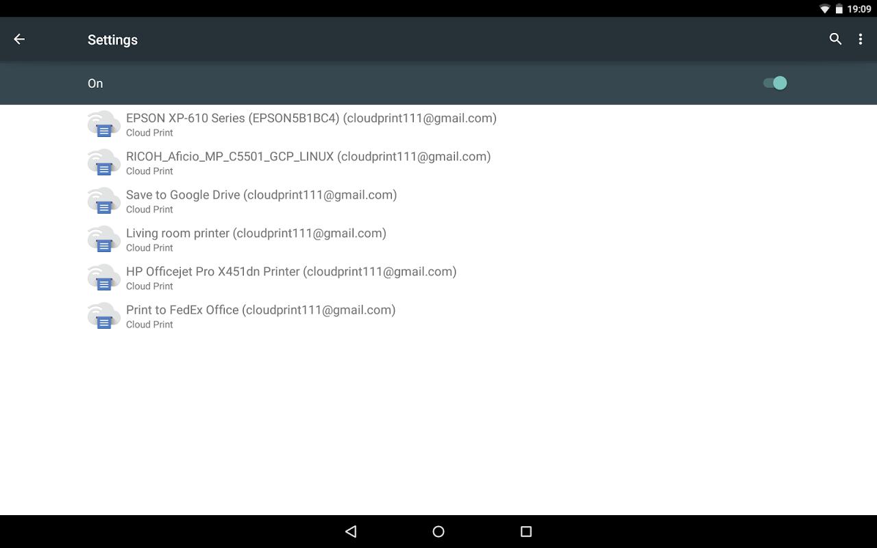 Cloud Print 0.9.2 Screen 32