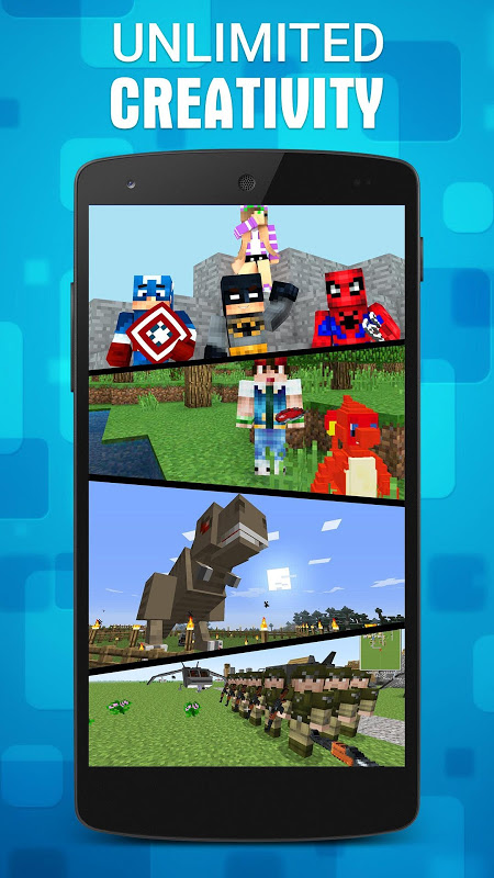 Mods for Minecraft PE 1.11.1 Screen 1