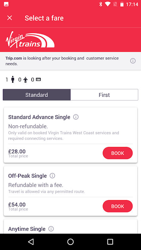 Skyscanner- Flights, Hotels, Trains and Car Hire 5.55 Screen 3