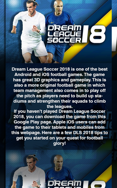 Android Guide Dream League Soccer 2019/2018 Screen 3