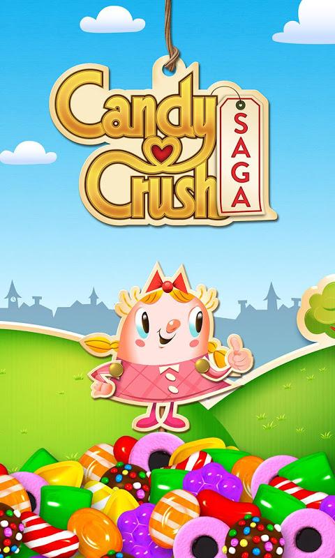 Android Candy Crush Saga Screen 3