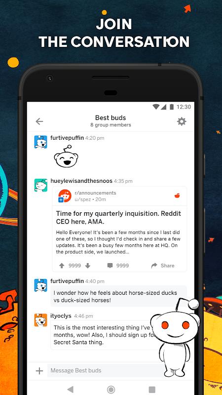 Android Reddit: Social News, Trending Memes & Funny Videos Screen 8