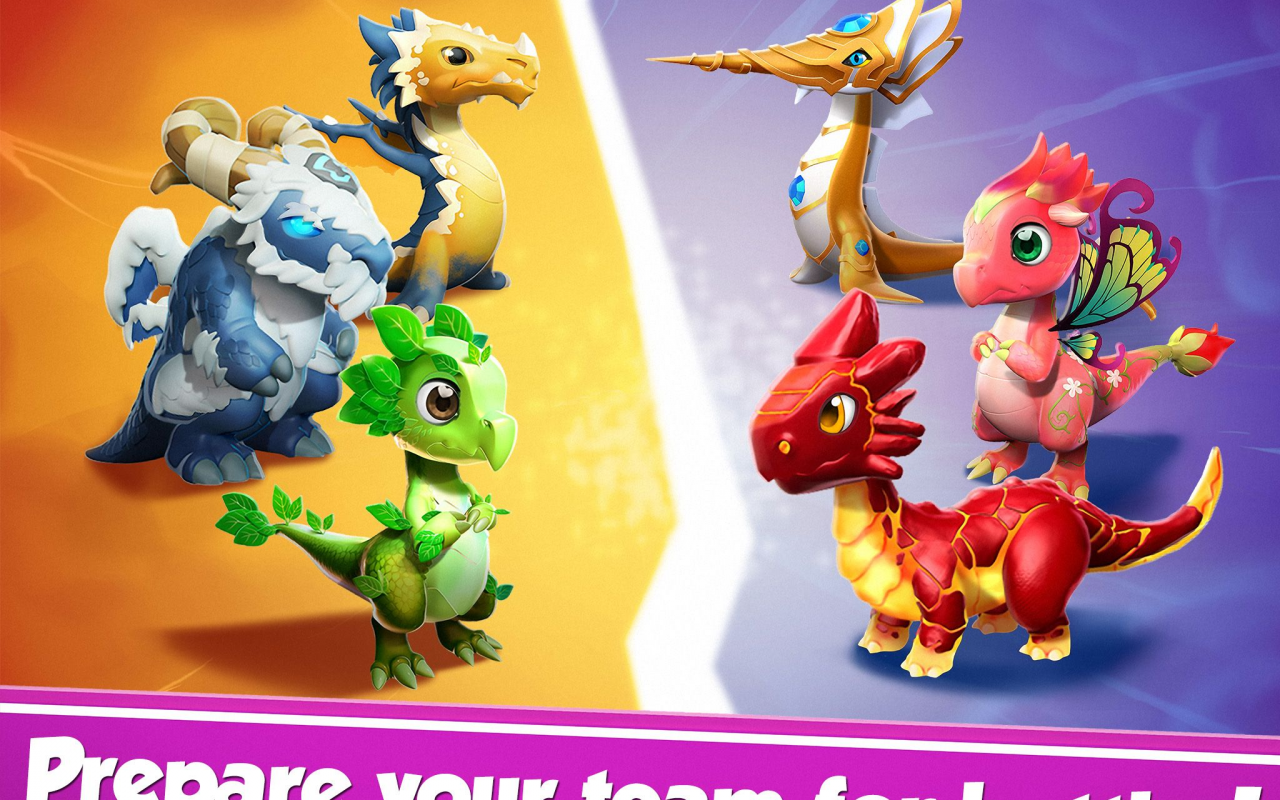 Android Dragon Mania Legends Screen 1